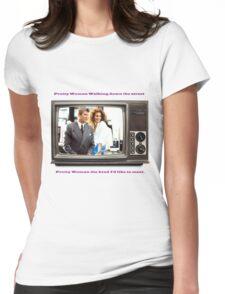 Pretty Woman Julia Roberts Womens Fitted T-Shirt