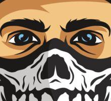 Masked Man Sticker