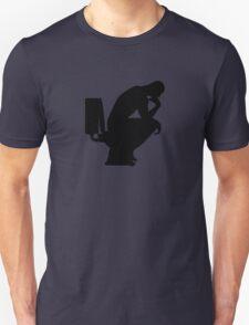 The Thinker (black) Unisex T-Shirt