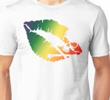 rainbow kiss Unisex T-Shirt