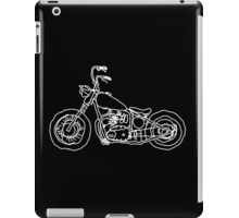 Project 650 Triumph Chopper Bobber iPad Case/Skin