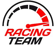 Racing team speedometer quick lawn by Style-O-Mat