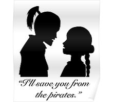 Zutara - I'll save you from the pirates Poster