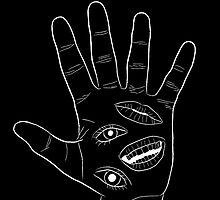 Behelit Hand - Black by Centrurian Chatmongkolkasem