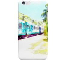 Fognano: train iPhone Case/Skin