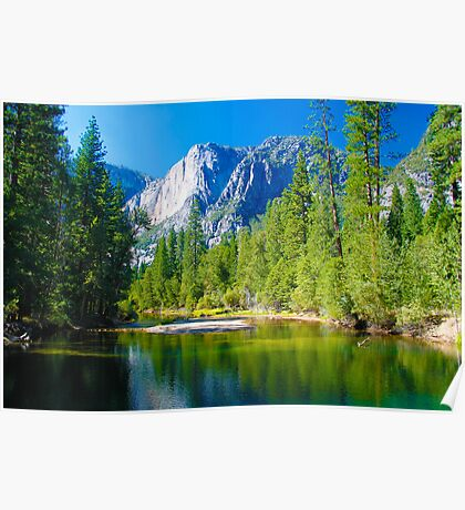 Yosemite National Park USA Poster
