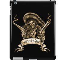 Hired-Gunz iPad Case/Skin