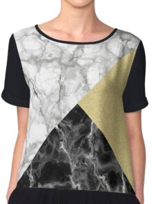Marble Mix Up Chiffon Top