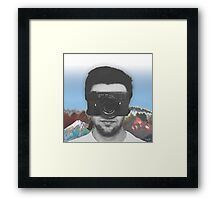 Camera Man Framed Print