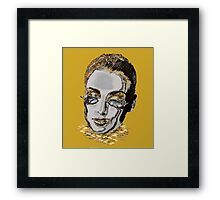 GoldDust Girl Framed Print