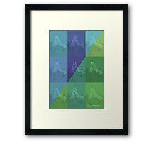 CRA A Grid 1 Framed Print