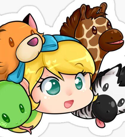Child's Play Scylla Sticker Sticker