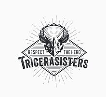 TRICERASISTERS: RESPECT THE HERD! Unisex T-Shirt