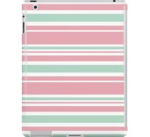 "Retro ""stripes"" collection: peach pink. Latest Fashion.  iPad Case/Skin"