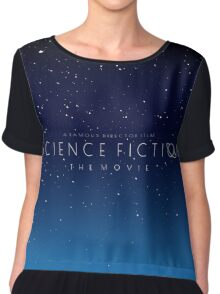Science Fiction: The Movie!- Blue Chiffon Top