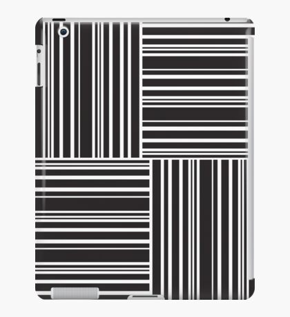 Stripes Elixir: Black and White Hollywood Inspired iPad Case/Skin