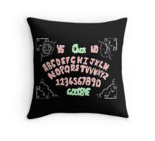 Ouija board pillow Throw Pillow