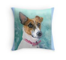 Jack Russell 1 Throw Pillow