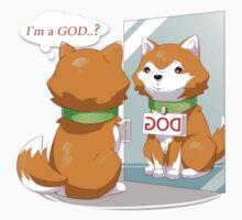 I'm a GOD? dog Kids Tee
