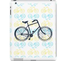 Bicycles (Blue and Yellow) iPad Case/Skin
