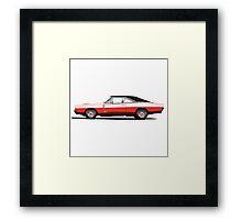 Dodge Charger R/T 426 Hemi (red) Framed Print