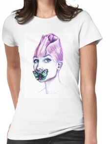 Audrey Hepburn, The Rose Womens Fitted T-Shirt