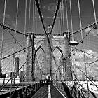 Brooklyn Bridge by KerryPurnell