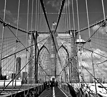 Brooklyn Bridge by KerryPurnell
