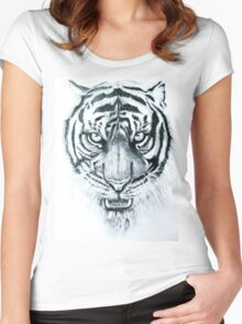 tiger eyes Women's Fitted Scoop T-Shirt