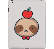 Bow Tie Sloth Face iPad Case/Skin