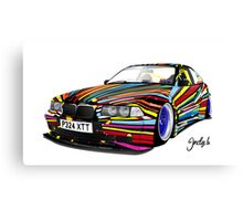 BMW E36 Canvas Print