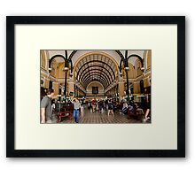 Post Office in Saigon Framed Print