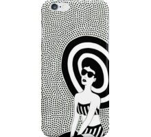 retro girl iPhone Case/Skin