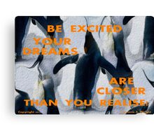 CLOSER THAN YOU REALISE Canvas Print
