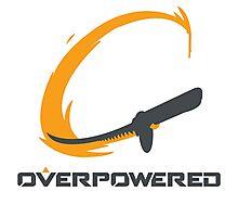 OverPowered Genji Slashing Sword Photographic Print