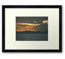 Winners make a habit of manufacturing their own positive expectations in advance of the event. Brian Tracy  .... Framed Print