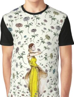 Paris Summer | The Flower Girl  Graphic T-Shirt