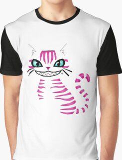 Cheshire Cat: Disappear Graphic T-Shirt