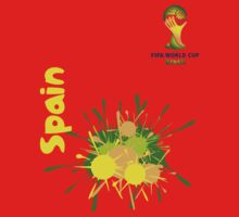 Spain World cup 2014 by refreshdesign