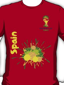 Spain World cup 2014 T-Shirt