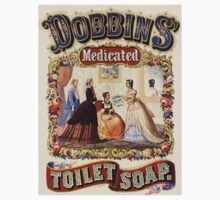 Vintage poster - Dobbins Medicated Toilet Soap Baby Tee