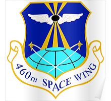 460th Space Wing Crest Poster
