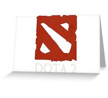 DOTA 2 BASIC Greeting Card