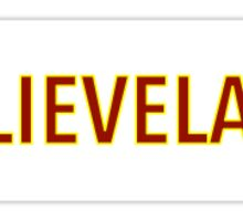 BELIEVELAND Sticker