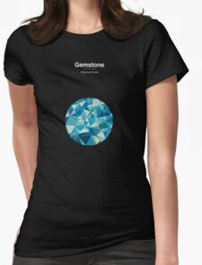 Gemstone - Adamantium Womens Fitted T-Shirt