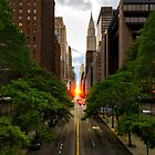 Manhattanhenge 2014 by Randy  Le'Moine