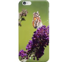 Butterfly With Flowers iPhone Case/Skin