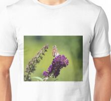 Butterfly With Flowers Unisex T-Shirt