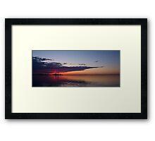 Panorama - Toronto Sunrise in June Framed Print