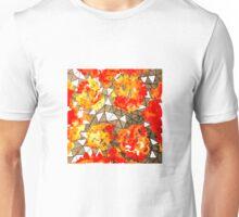 Burning Fire Unisex T-Shirt